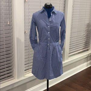 Banana Republic Classic Stripe Dress, w Pockets, 2